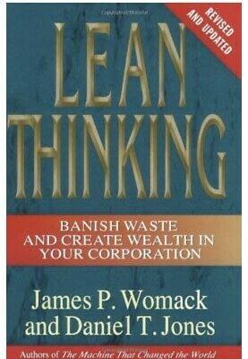 ჯეფ ბეზოსის რჩეული წიგნები Lean Thinking