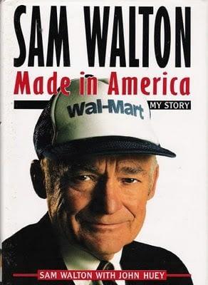 ჯეფ ბეზოსის რჩეული წიგნები   Sam Walton Made in America