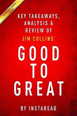 ჯეფ ბეზოსის რჩეული წიგნები Good To Great
