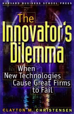 ჯეფ ბეზოსის რჩეული წიგნები The Innovator's Dilemma